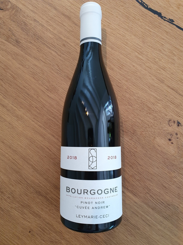"""Bourgogne pinot noir """"Cuvée Andrew"""""""