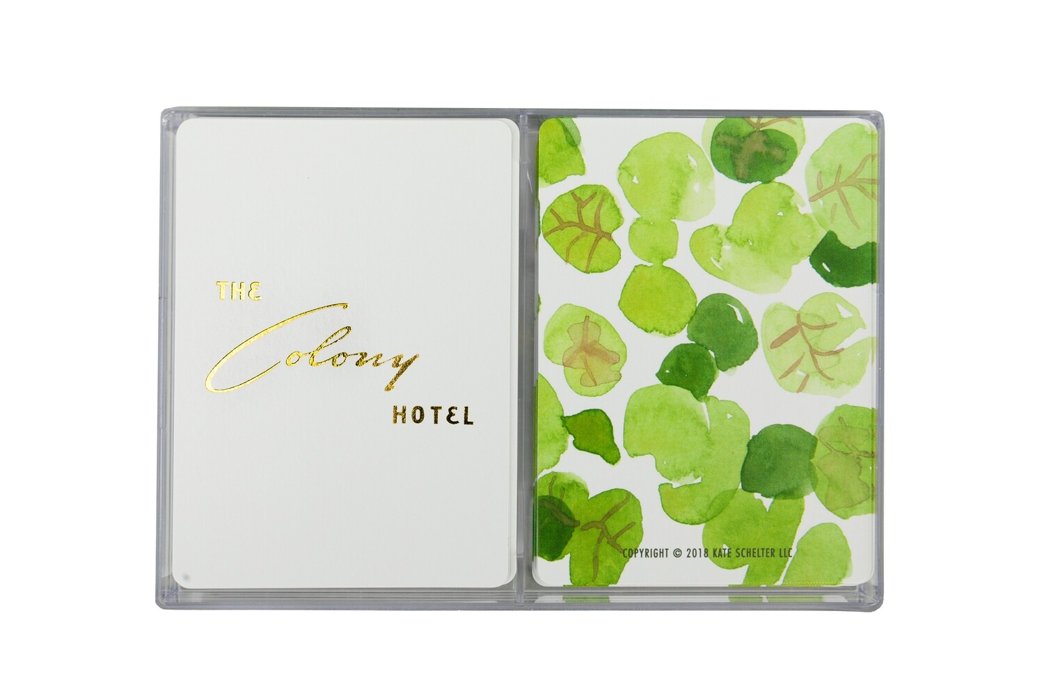 The Colony Hotel Playing Cards Set
