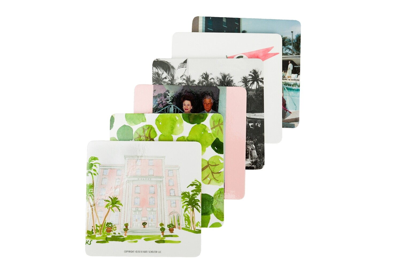 The Colony Hotel Coaster Set
