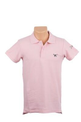 Pink Paradise Polo