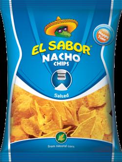 Nacho Chips Salted Blue 100G