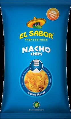 Nacho Chips Salt Foodservice 500G