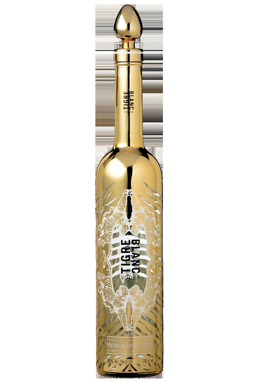 Vodka Tigre Blanc Premium Gold 75CL