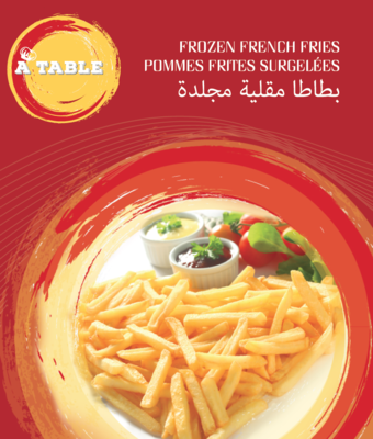 A Table French Fries 9*9 1KG