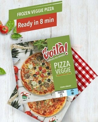 Pizza Vegetarian Et Voila
