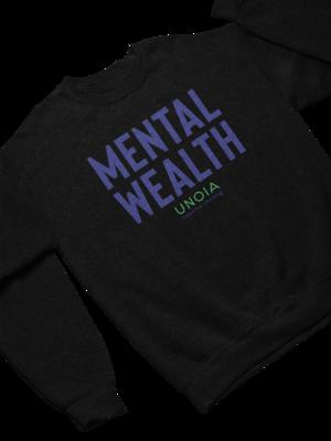 'Mental Wealth' Unoia Unisex Crew Sweatshirt