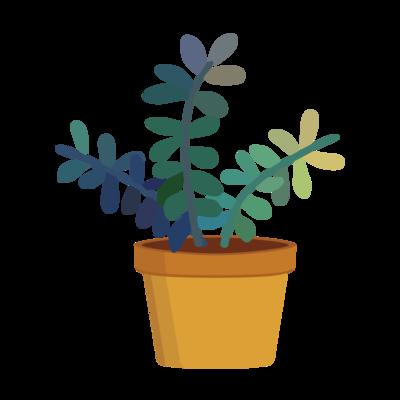 Faux Pot Plant