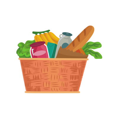 Grocery Gift Box