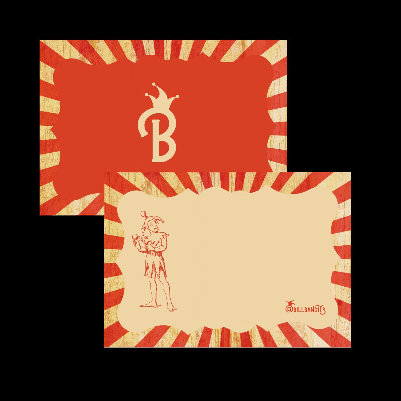 Bandit Postcards (x50)
