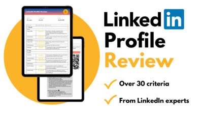 LinkedIn Profile Review
