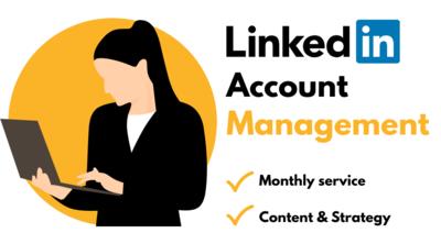 LinkedIn Account Management Service