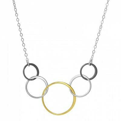 SD Mixed Metal Multi Necklace
