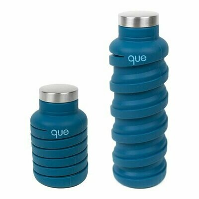 Que Water Bottle - 20 oz Collapsible