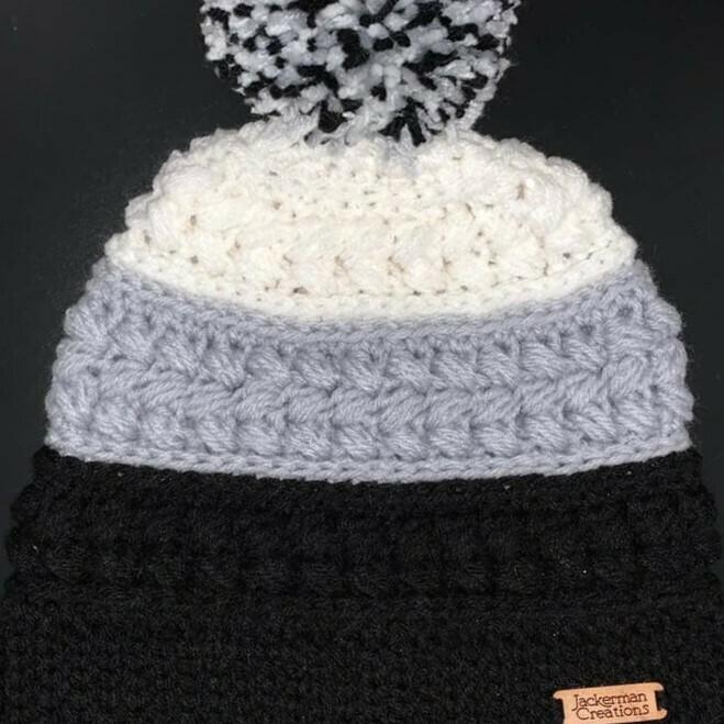 Jackerman Creations Hat with Pom