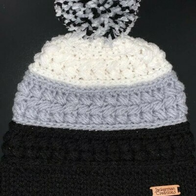 Jackerman Creations Hat with Pom