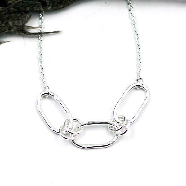 Hope Linking Together Necklace - 16