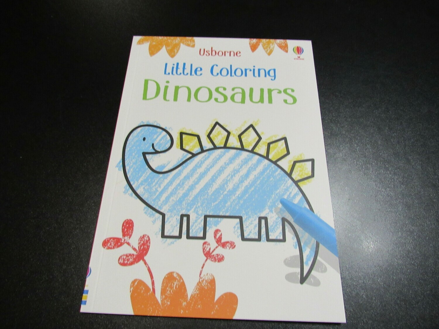 Little Coloring Dinosaurs Book