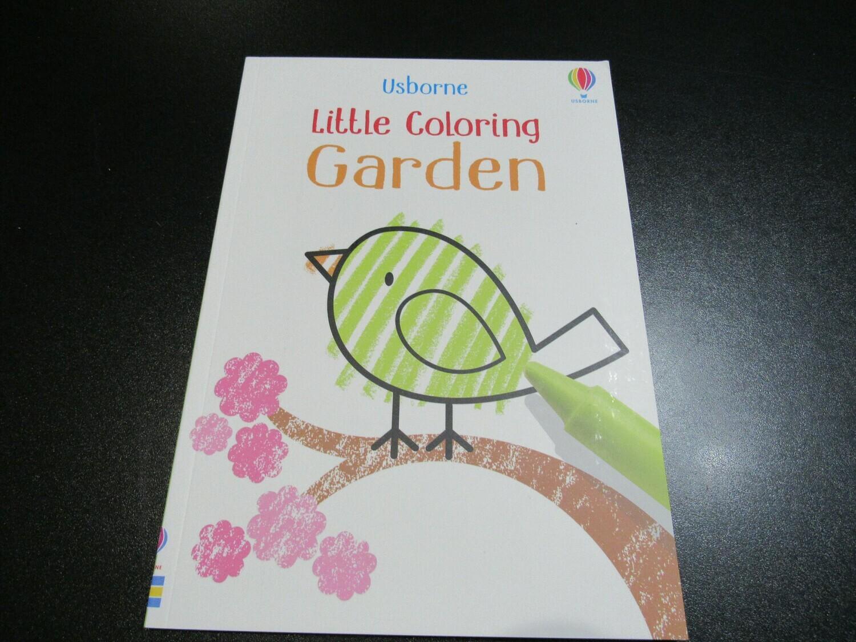 Little Coloring Garden Book
