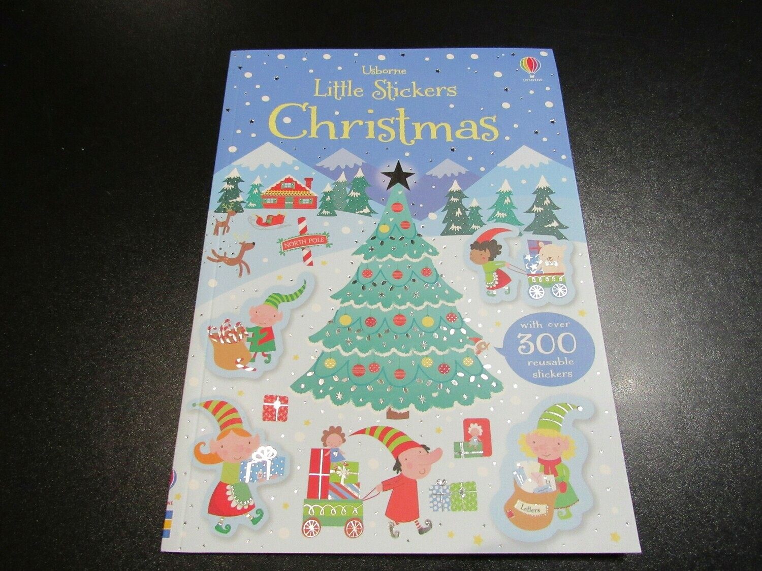 Little Stickers Christmas Book