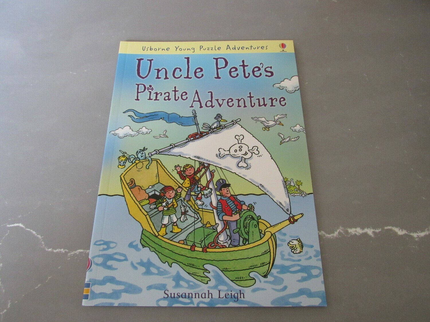 Uncle Pete's Pirate Adventure Book