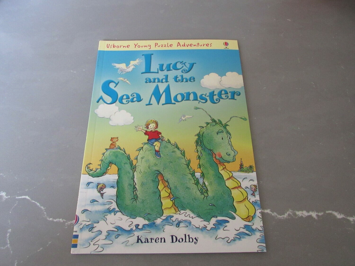 Lucy and the Sea Monster Book