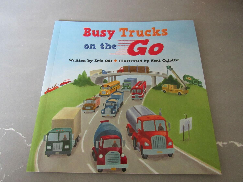 Busy Trucks on the Go Book