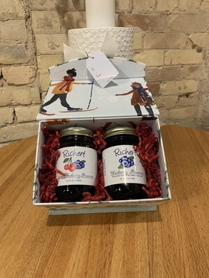 Richert Cherry & Blueberry Preserve Curated Gift Box