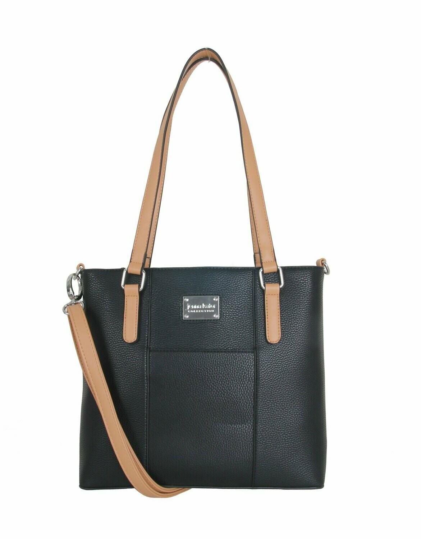 Jenna Kator Boyne City Handbag - Night Sky Black