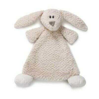 Cozie Belina Bunny Rattle Blankie