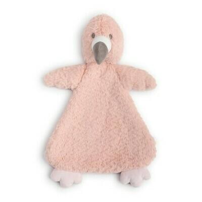 Finley Flamingo Rattle Blankie
