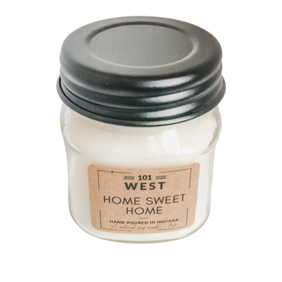 101 West Hand Poured 8 oz Candles
