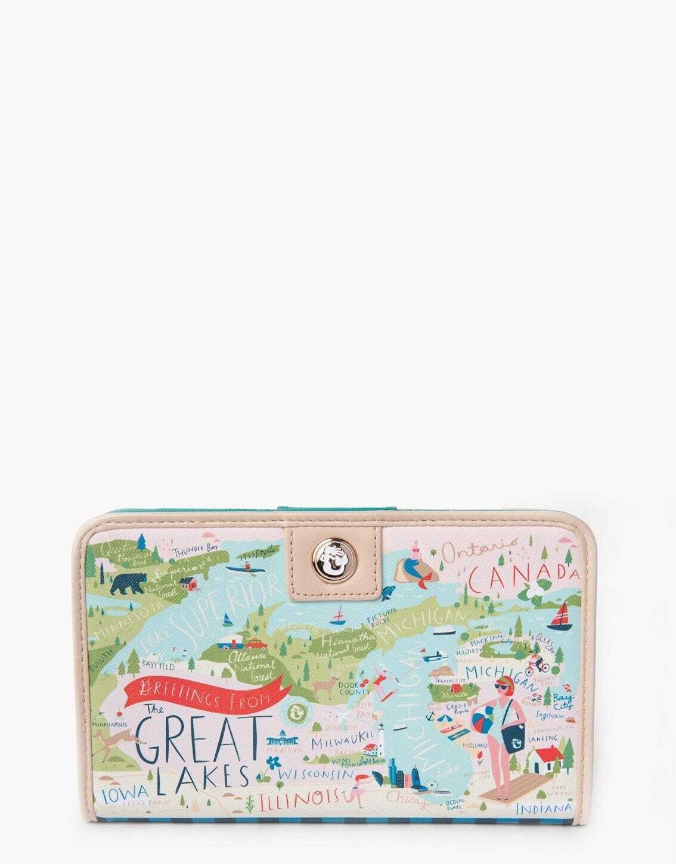 Spartina Great Lakes Snap Wallet