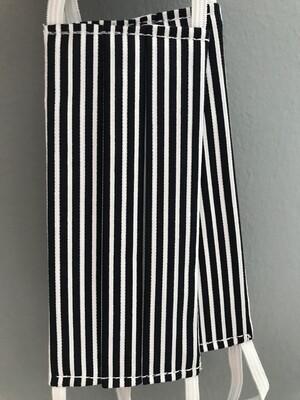 Stripes Blue Face Mask