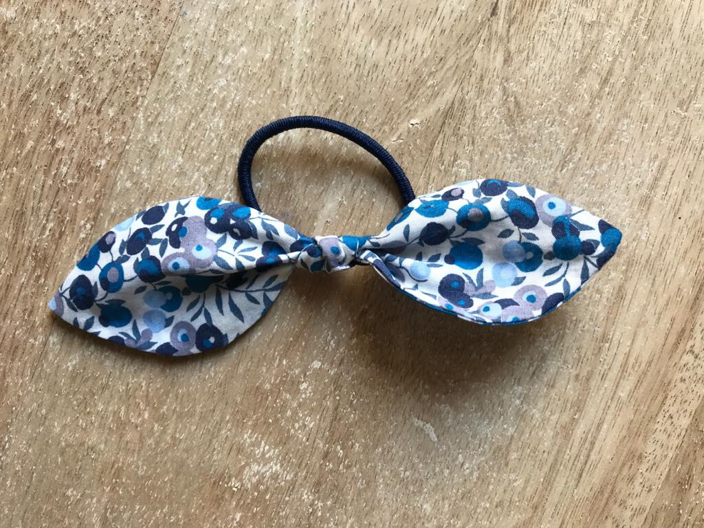 Wiltshire Blue Hair Tie