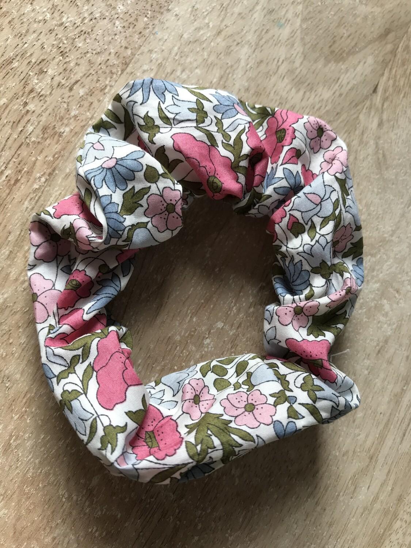 Popy Pink Scrunchie