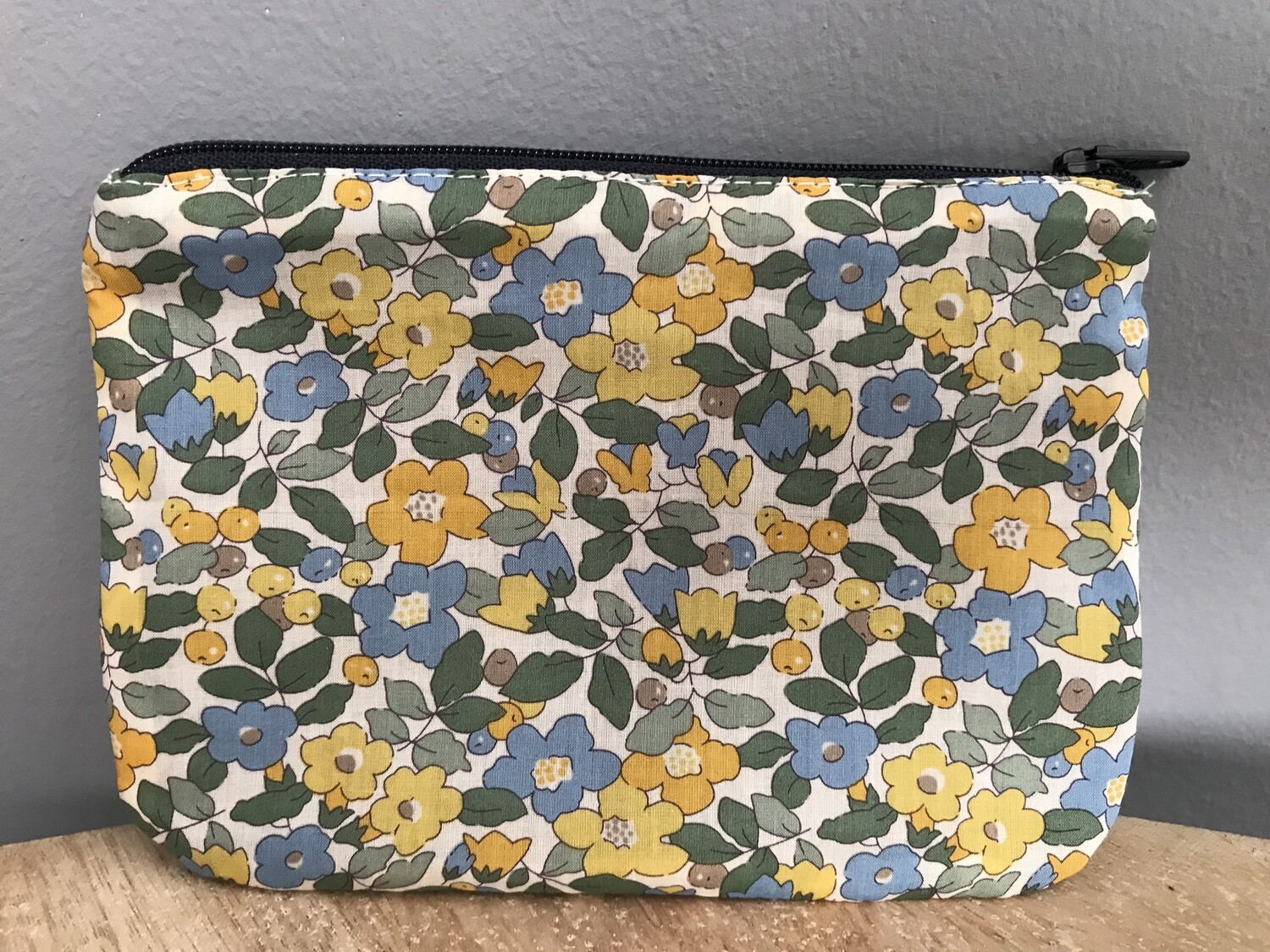 Betsy Yellow Pouch