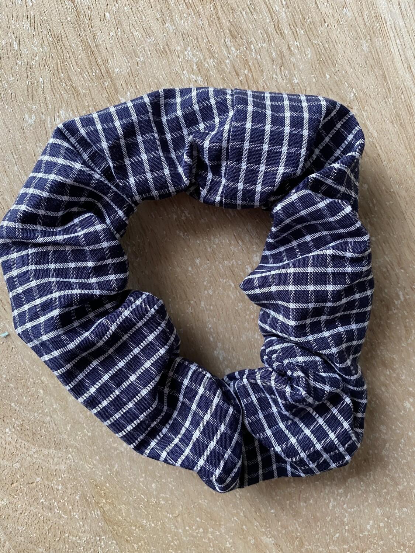 Scrunchie Squared blue