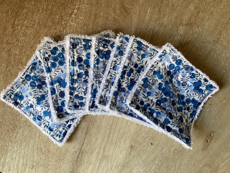 Toallitas desmaquillantes Reutilizables Wiltshire Blue