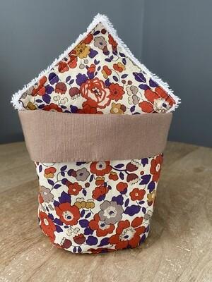 Pack Bolsita tela + lote 7 toallitas reutilizables Betsy Otoño