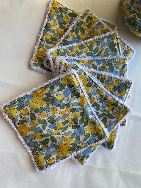 Toallitas desmaquillantes Reutilizables Betsy Yellow