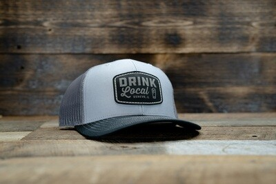 Project Drink Local Hat - Heather/Charcoal/Black