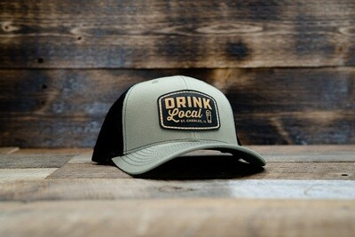 Project Drink Local Hat - Loden/Black