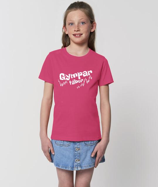 """Tričko """"Gympar tábor"""" Růžové"""