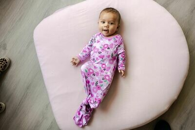 Little Sleepies Infant Knotted Sleep Gown