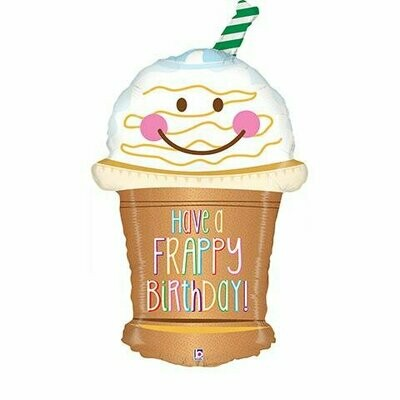 """32"""" Have a Frappy Birthday Balloon"""