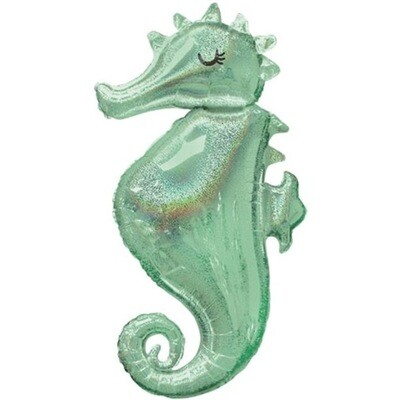 "38"" Mermaid Wishes Seahorse Balloon 4905536"