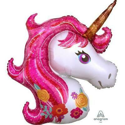 "33"" Pink Mane Magical Unicorn 4887636"