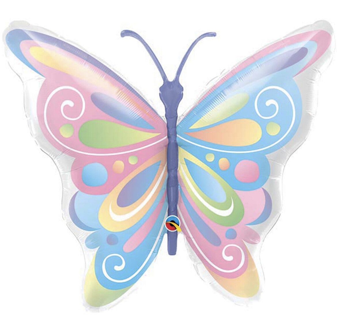 """40"""" Pastel Butterfly Shaped Balloon 2305536"""