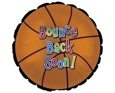 "18"" Get Well Soon Bounce Back Balloon"