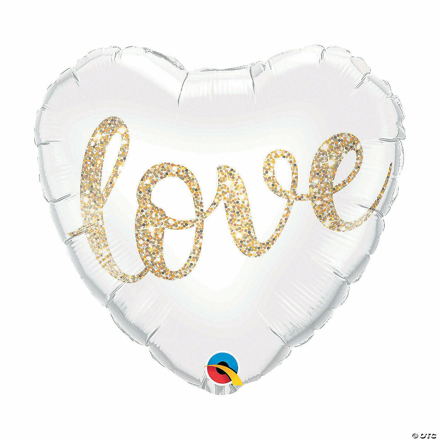 "18"" Love Glitter Gold Heart Balloon 2288918"